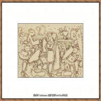 画家保罗克利Paul Klee油画作品高清图片野兽派油画大师作品高清大图 (29)