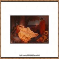 弗雷德里克莱顿洛德莱顿Frederic_Leighton油画作品高清大图古典油画作品高清图片 (8)