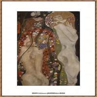 克里姆特Gustav Klimt油画作品奥地利象征主义画家克里姆特油画作品高清图片 (20)