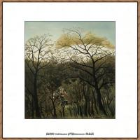 法国画家亨利卢梭Jacques Rousseau油画作品高清图片杰出的油画作品梦 (30)