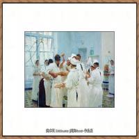 列宾Ilya Repin经典油画作品高清图片人物肖像油画作品图片素材写实派画家油画作品大图 (15)