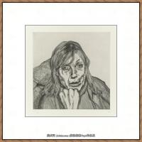 英国表现派绘画大师卢西安弗洛伊德Lucian Freud油画作品高清大图最贵画家卢西安弗洛伊德绘画作品高清图库 (4)