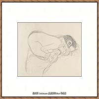 奥地利绘画大师克里姆特Austria Gustav Klimt素描手稿人物素描经典素描高清图片克里姆特速写 (13)