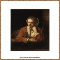 荷兰现实主义画家伦勃朗Rembrandt17世纪最伟大的画家油画作品高清大图肖像画风景画风俗画宗教画 (72)