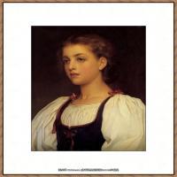弗雷德里克莱顿洛德莱顿Frederic_Leighton油画作品高清大图古典油画作品高清图片 (65)