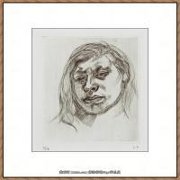 英国表现派绘画大师卢西安弗洛伊德Lucian Freud油画作品高清大图最贵画家卢西安弗洛伊德绘画作品高清图库 (34)
