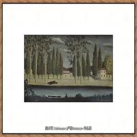 法国画家亨利卢梭Jacques Rousseau油画作品高清图片杰出的油画作品梦 (18)