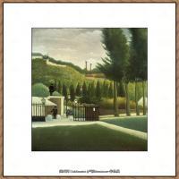 法国画家亨利卢梭Jacques Rousseau油画作品高清图片杰出的油画作品梦 (22)