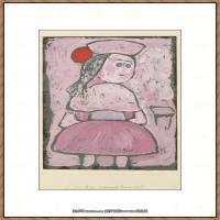 画家保罗克利Paul Klee油画作品高清图片野兽派油画大师作品高清大图 (100)