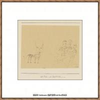 画家保罗克利Paul Klee油画作品高清图片野兽派油画大师作品高清大图 (12)