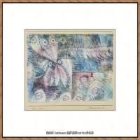 画家保罗克利Paul Klee油画作品高清图片野兽派油画大师作品高清大图 (73)