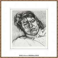 英国表现派绘画大师卢西安弗洛伊德Lucian Freud油画作品高清大图最贵画家卢西安弗洛伊德绘画作品高清图库 (38)