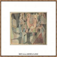 画家保罗克利Paul Klee油画作品高清图片野兽派油画大师作品高清大图 (79)