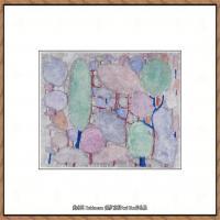 画家保罗克利Paul Klee油画作品高清图片野兽派油画大师作品高清大图 (116)