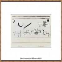 画家保罗克利Paul Klee油画作品高清图片野兽派油画大师作品高清大图 (36)