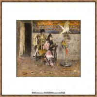 乔凡尼博蒂尼GiovanniBodini油画作品高清图片 (25)