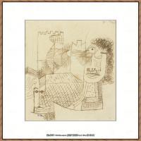 画家保罗克利Paul Klee油画作品高清图片野兽派油画大师作品高清大图 (106)