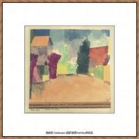 画家保罗克利Paul Klee油画作品高清图片野兽派油画大师作品高清大图 (52)