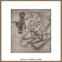 画家保罗克利Paul Klee油画作品高清图片野兽派油画大师作品高清大图 (68)