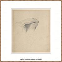 法国新印象主义点彩派画家乔治修拉Georges Seurat油画作品高清大图 (25)