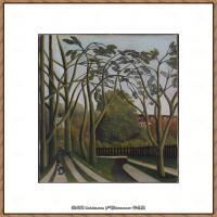 法国画家亨利卢梭Jacques Rousseau油画作品高清图片杰出的油画作品梦 (10)