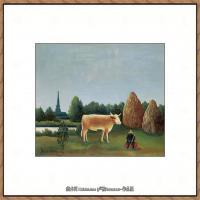 法国画家亨利卢梭Jacques Rousseau油画作品高清图片杰出的油画作品梦 (23)