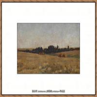 俄罗斯画家伊萨克列维坦Isaac Levitan油画风景作品图片风景油画高清大图 (18)