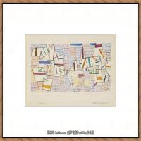 画家保罗克利Paul Klee油画作品高清图片野兽派油画大师作品高清大图 (7)