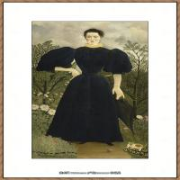 法国画家亨利卢梭Jacques Rousseau油画作品高清图片杰出的油画作品梦 (34)