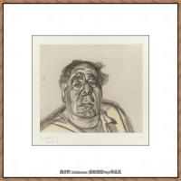 英国表现派绘画大师卢西安弗洛伊德Lucian Freud油画作品高清大图最贵画家卢西安弗洛伊德绘画作品高清图库 (29)