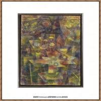 画家保罗克利Paul Klee油画作品高清图片野兽派油画大师作品高清大图 (120)