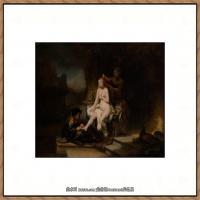 荷兰现实主义画家伦勃朗Rembrandt17世纪最伟大的画家油画作品高清大图肖像画风景画风俗画宗教画 (71)