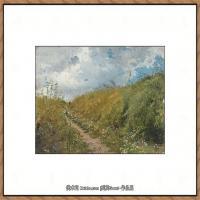 列宾Ilya Repin经典油画作品高清图片人物肖像油画作品图片素材写实派画家油画作品大图 (13)