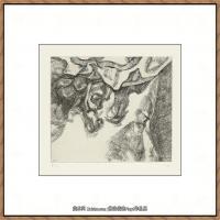 英国表现派绘画大师卢西安弗洛伊德Lucian Freud油画作品高清大图最贵画家卢西安弗洛伊德绘画作品高清图库 (102