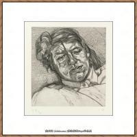 英国表现派绘画大师卢西安弗洛伊德Lucian Freud油画作品高清大图最贵画家卢西安弗洛伊德绘画作品高清图库 (35)