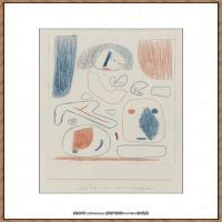画家保罗克利Paul Klee油画作品高清图片野兽派油画大师作品高清大图 (115)