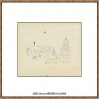 画家保罗克利Paul Klee油画作品高清图片野兽派油画大师作品高清大图 (23)