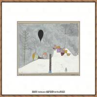 画家保罗克利Paul Klee油画作品高清图片野兽派油画大师作品高清大图 (21)