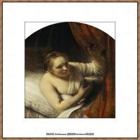 荷兰现实主义画家伦勃朗Rembrandt17世纪最伟大的画家油画作品高清大图肖像画风景画风俗画宗教画 (25)
