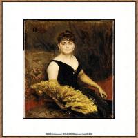 乔凡尼博蒂尼GiovanniBodini油画作品高清图片 (37)