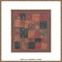 画家保罗克利Paul Klee油画作品高清图片野兽派油画大师作品高清大图 (37)