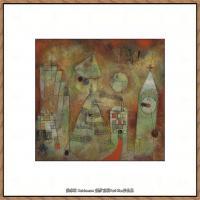 画家保罗克利Paul Klee油画作品高清图片野兽派油画大师作品高清大图 (8)