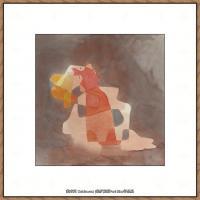 画家保罗克利Paul Klee油画作品高清图片野兽派油画大师作品高清大图 (49)