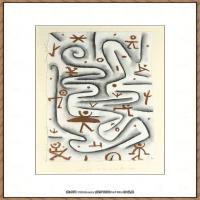 画家保罗克利Paul Klee油画作品高清图片野兽派油画大师作品高清大图 (27)