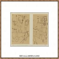 画家保罗克利Paul Klee油画作品高清图片野兽派油画大师作品高清大图 (4)