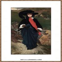 弗雷德里克莱顿洛德莱顿Frederic_Leighton油画作品高清大图古典油画作品高清图片 (83)