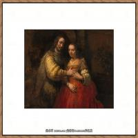 荷兰现实主义画家伦勃朗Rembrandt17世纪最伟大的画家油画作品高清大图肖像画风景画风俗画宗教画 (7)