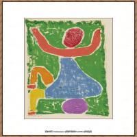 画家保罗克利Paul Klee油画作品高清图片野兽派油画大师作品高清大图 (24)