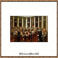 列宾Ilya Repin经典油画作品高清图片人物肖像油画作品图片素材写实派画家油画作品大图 (6)