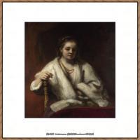 荷兰现实主义画家伦勃朗Rembrandt17世纪最伟大的画家油画作品高清大图肖像画风景画风俗画宗教画 (253)